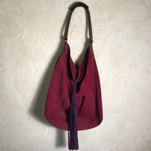 Raspberry Bucket Bag